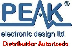 Instrumentación de PEAK Electronic Design Ltd.